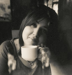 That's me in a detail-rich film negative of a much loved Polaroid!