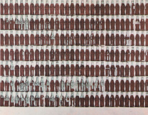 Andy Warhol Coke Bottles Art Deco 20's art
