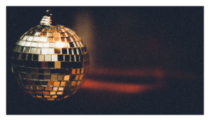 Abba disco ball bauble