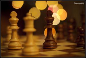 Chess bokeh