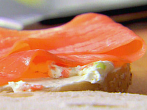 Lox and Cream Cheese!