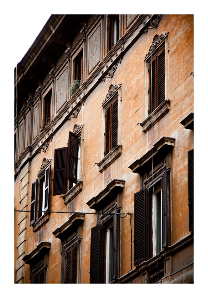 Apartment, Rome, architecture