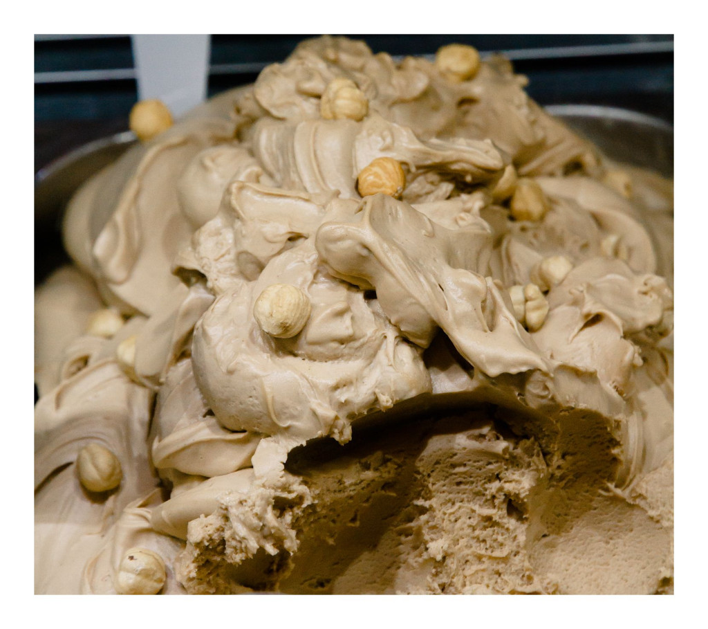 Butterscotch and Hazelnut Gelato