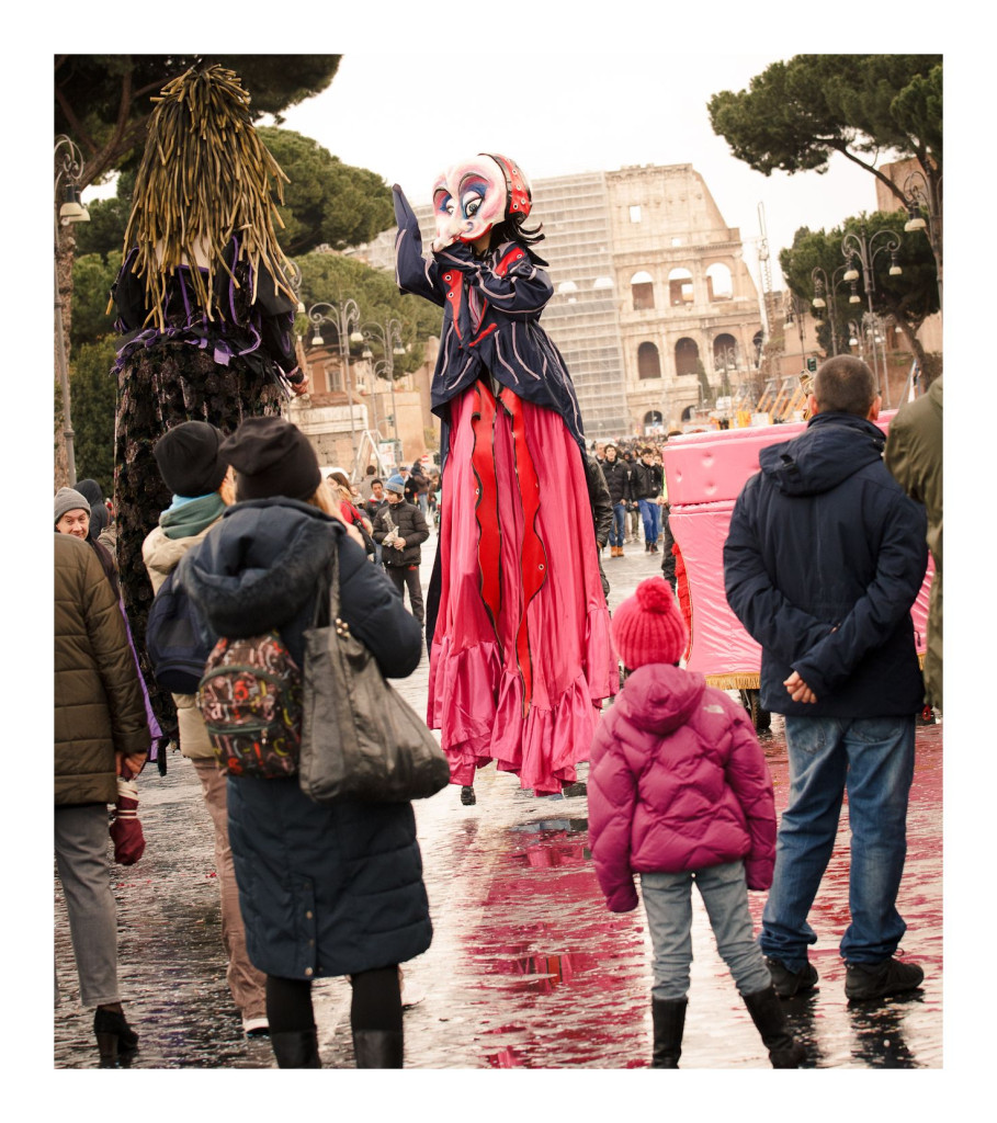 Carnival at Piazza Venezia