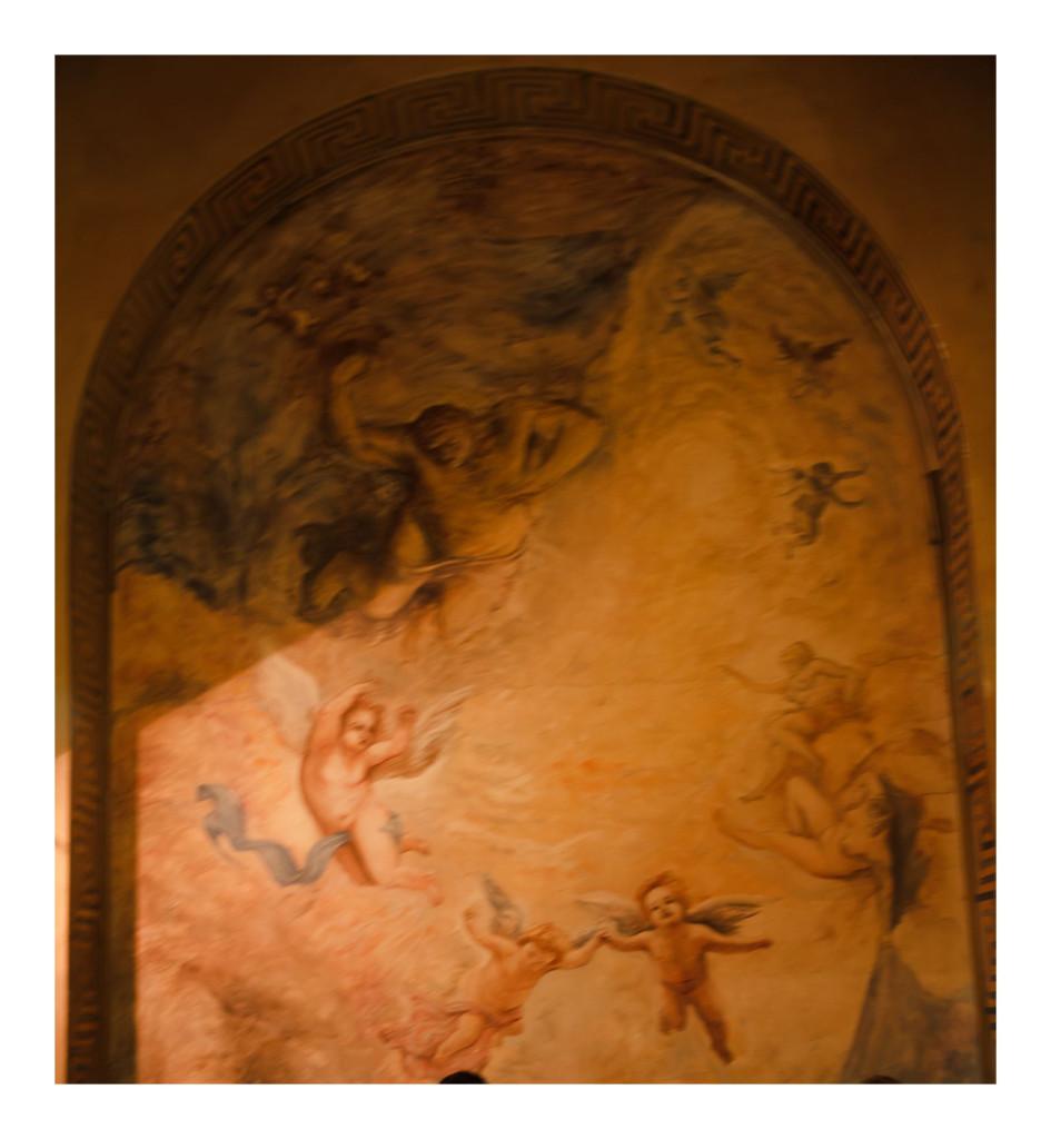 Fresco inside Ristorante Sacro&Profano