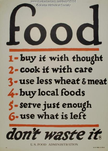 Buy Local, Eat less, Live Better!