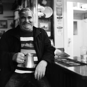 Jaime - A wonderful local at The Sloop Inn.  Has his own tankard at the pub :-)