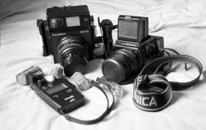 Polaroid 600SE + Bronica SQ-a