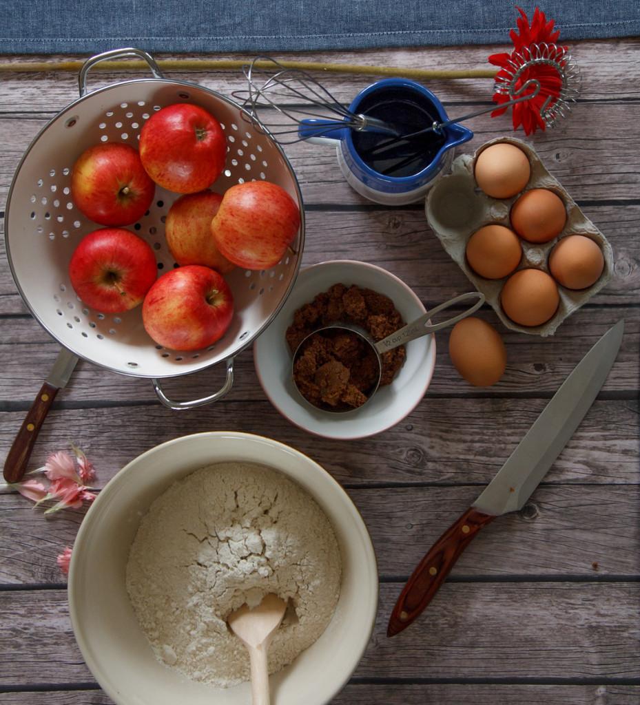 apples, still life, shelfie, vintage, farmhouse, reclaimed wood table, baking