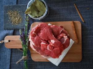 Tender Steak and Seasoning